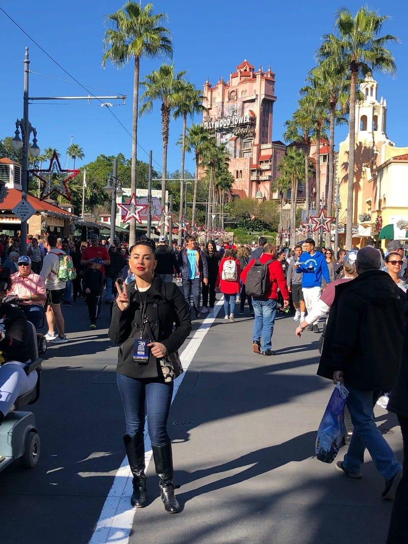 Jason and Corinna toured Disney World.