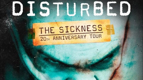 KISW Presents Disturbed - NEW DATE
