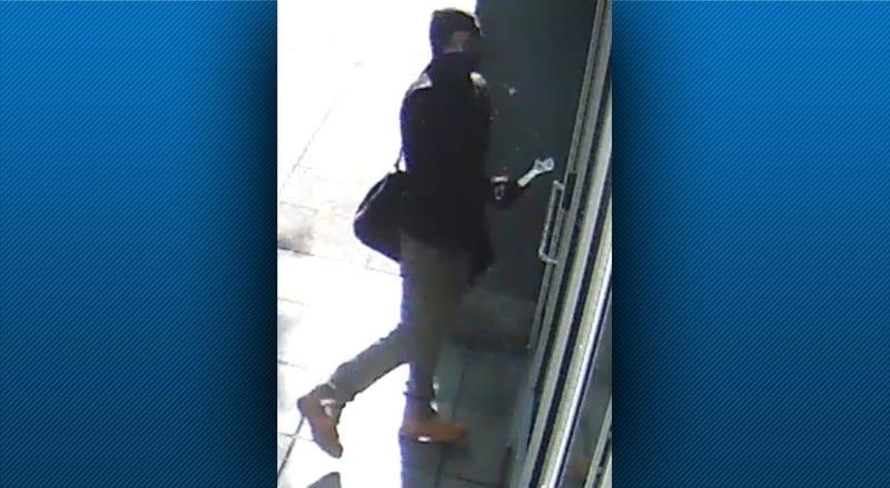Dollar Bank Vandalism Suspect