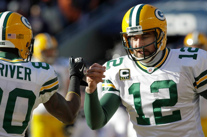 Donald Driver Aaron Rodgers