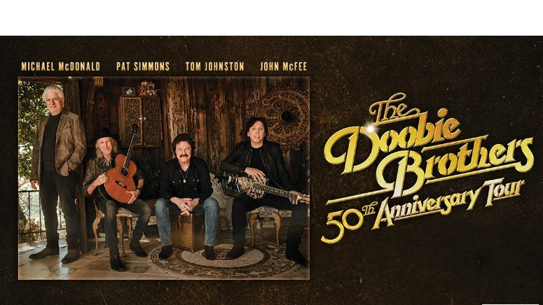 The Doobie Brothers- 50th Anniversary Tour - RESCHEDULED