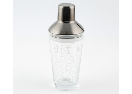 Cambridge Silversmiths Recipes Cocktail Shaker
