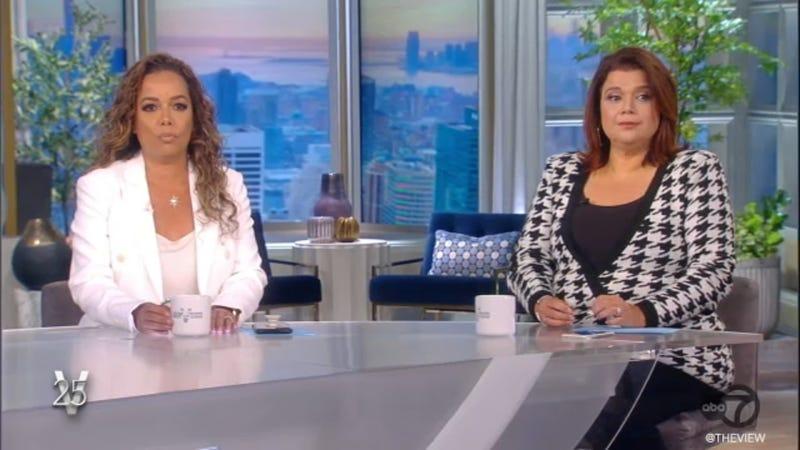 "Sunny Hostin and Ana Navarro on ""The View"" on Sept. 24, 2021"