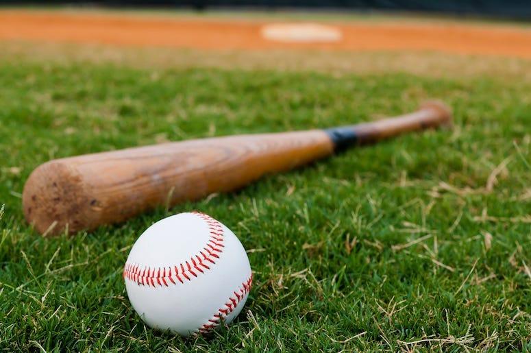 Baseball, Bat, Field, Base, Outfield
