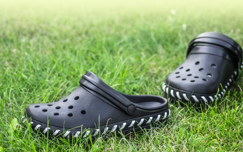 Black Croc shoes