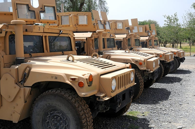 Military, Humvee
