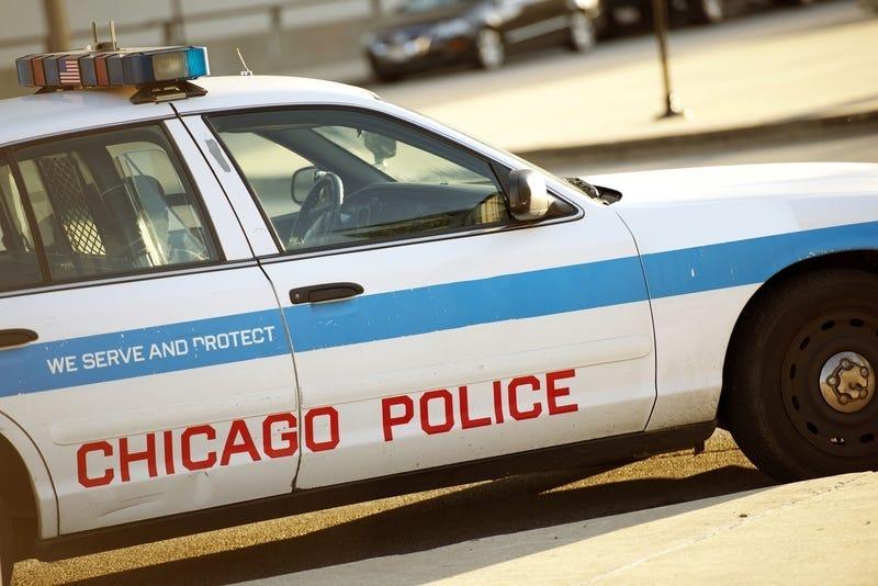 Chicago Police squad car