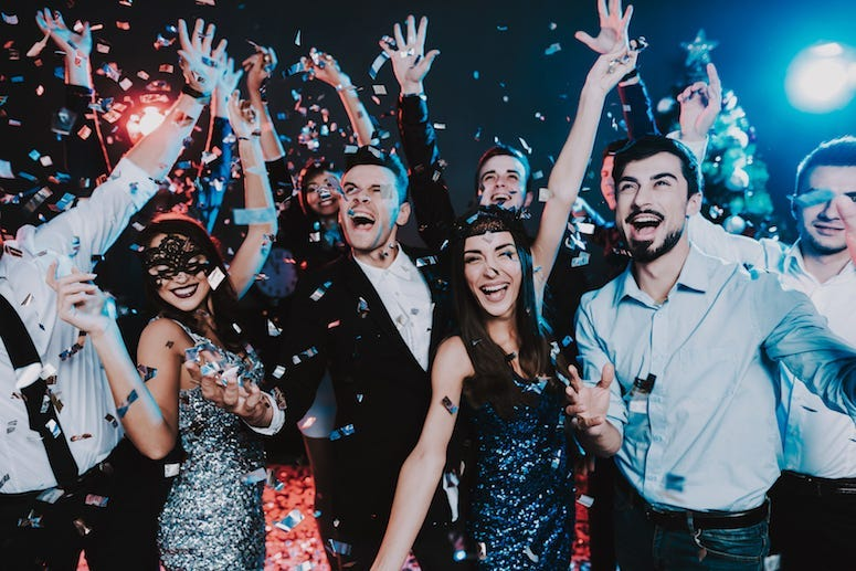 People, Celebrating, Party, New Year's Eve