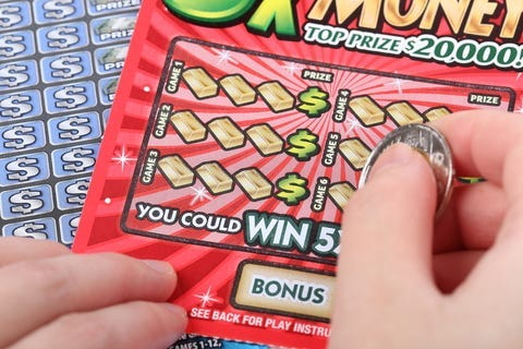 Lottery Scratch Off