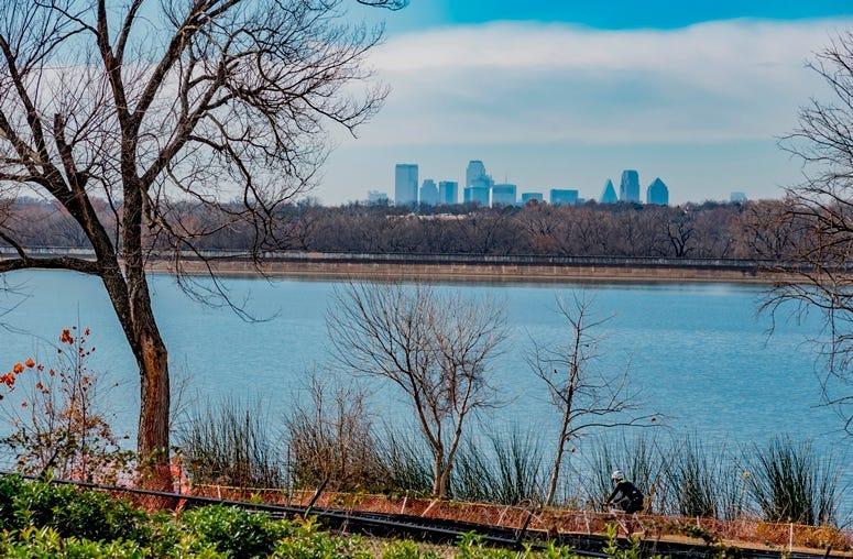 Dallas Arboretum Botanic Garden in Winter