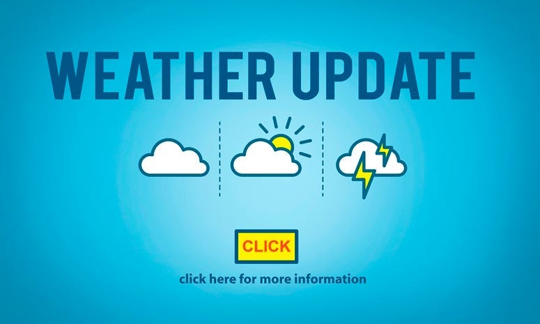 Weather Update Prediction Forecast News Information Concept.