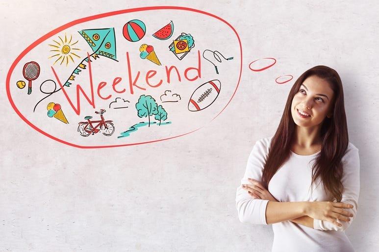 Weekend concept