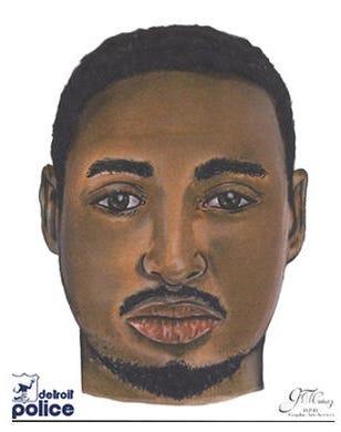 Sterling Heights teen murdered in Detroit suspect sketch