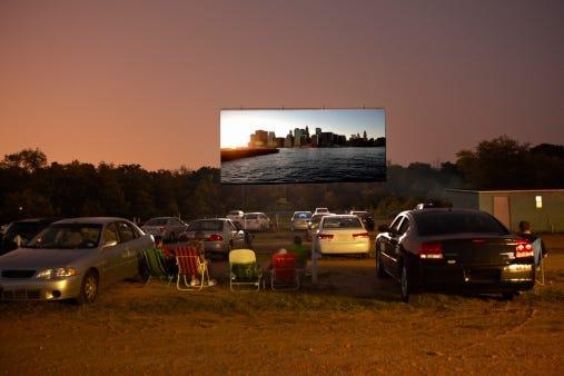Drive -in, Movie Theater, Local, Chicagoland, Bridgeview, Pilsen