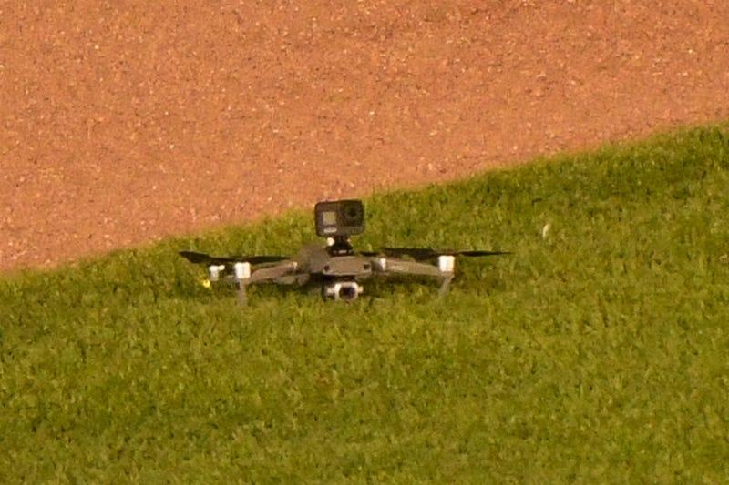 Cubs Drone Wrigley Field