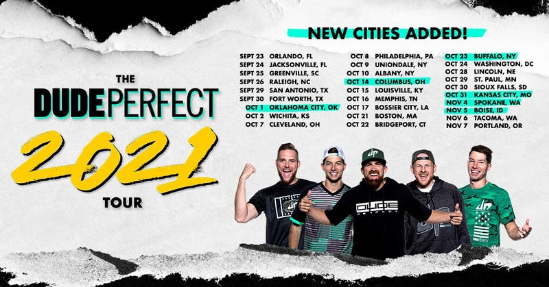 Dude Perfect 2021 World Tour