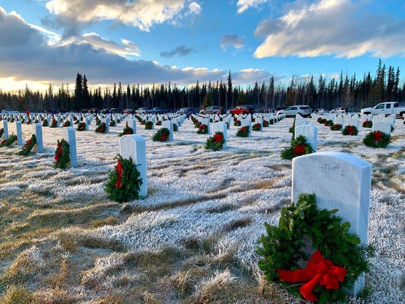 Joint Base Elmendorf-Richardson Wreaths Across America