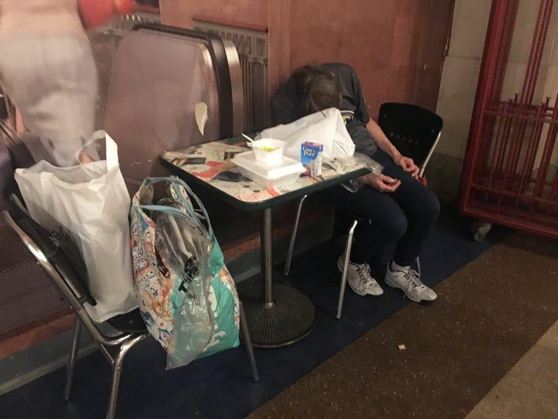 Homeless Subways