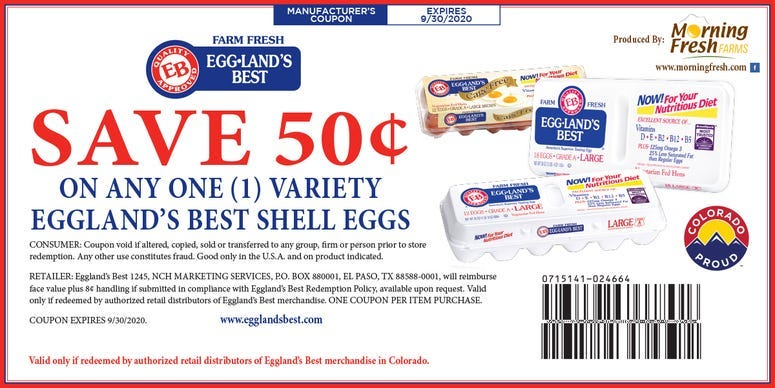 eggland's digital coupon