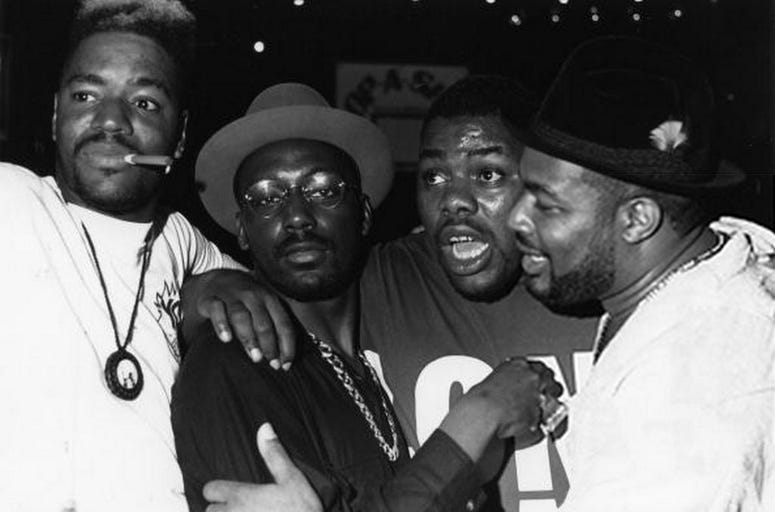 Ed Lover, Big Daddy Kane, Biz Markie, Jam Master Jay