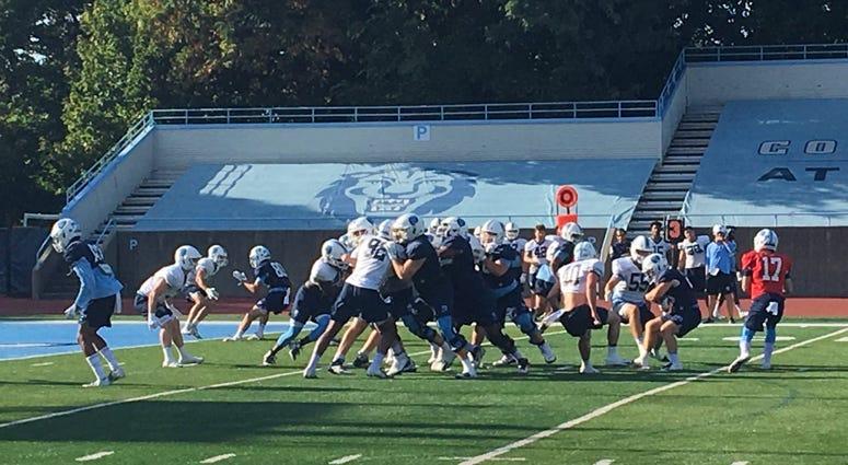 Columbia Football Practice