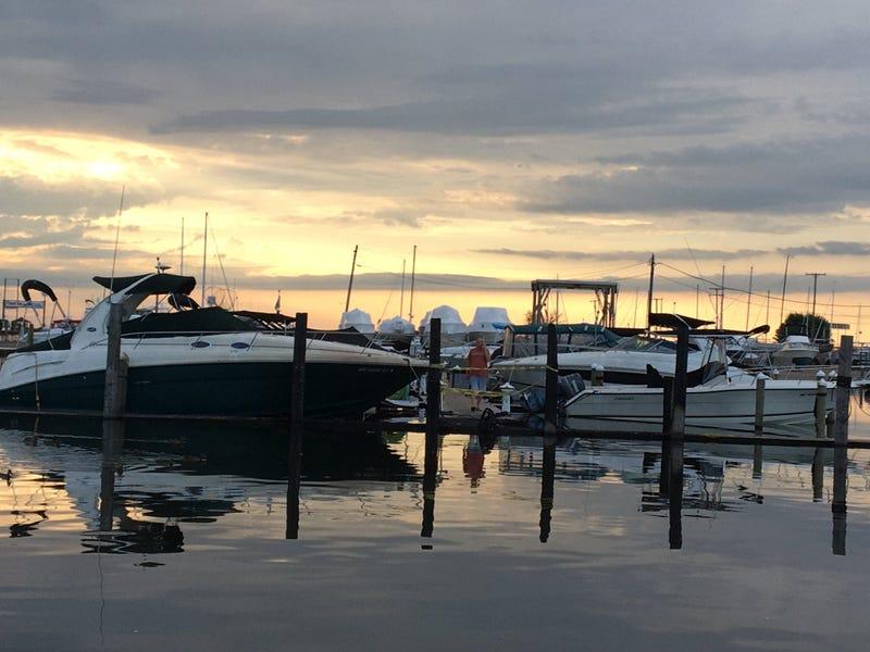 Boat fire engulfs marina where Kirk Gibson keeps his boat