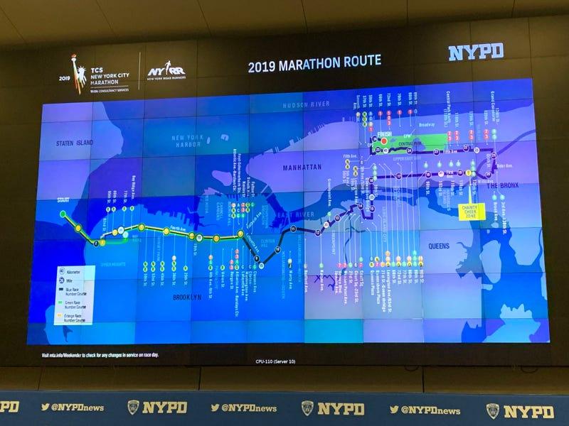 NYC Marathon 2019 NYPD