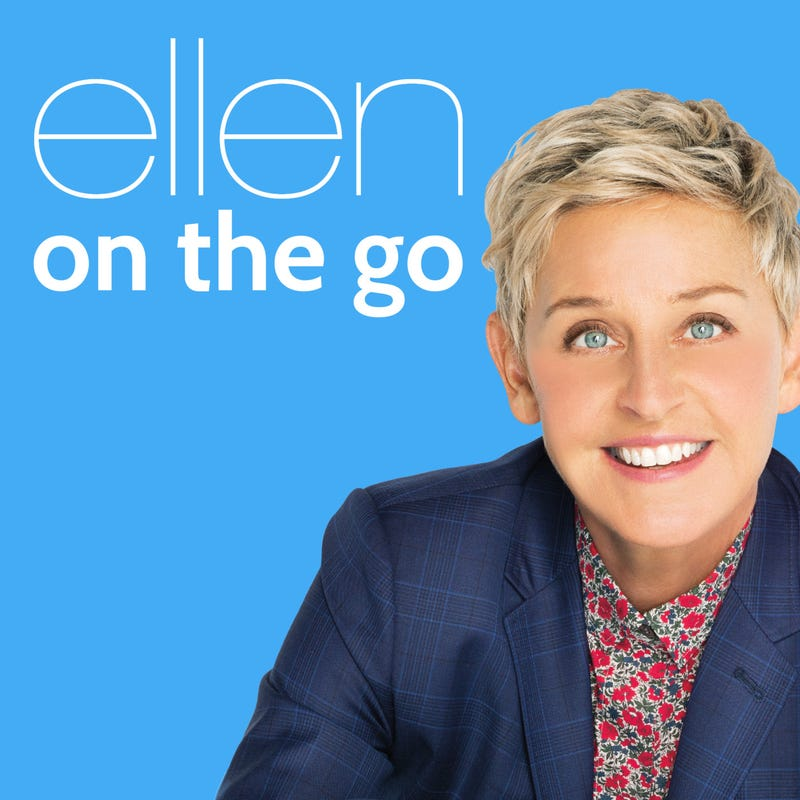 ellen on the go podcast cover