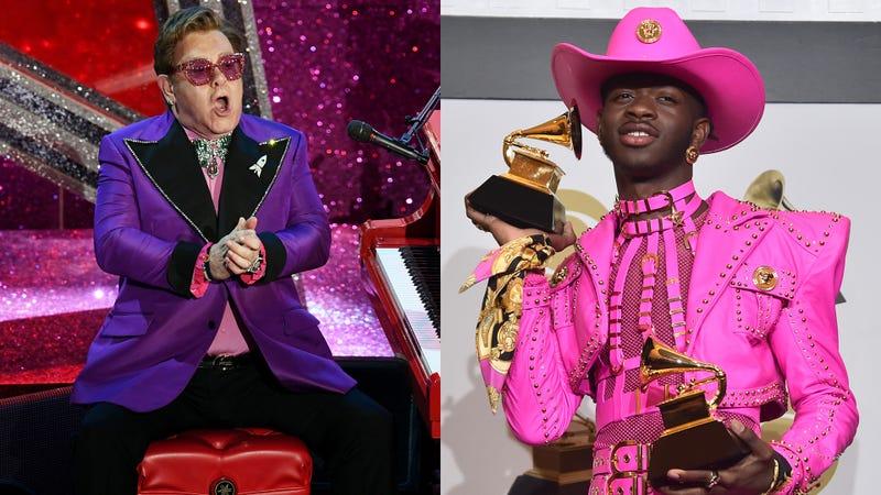 Elton John and Lil Nas X