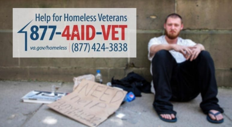 VA has $200M to support homeless or at risk veterans