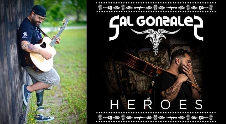 Marine Corps veteran Sal Gonzalez went from combat to country music success with Wounded Warrior Project