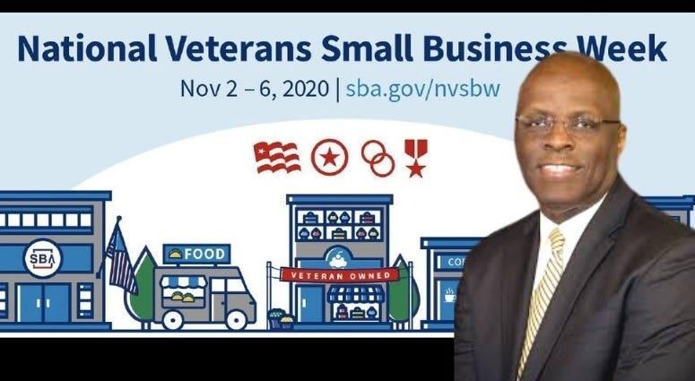 Larry Stubblefield talk National Veteran Small Business Week