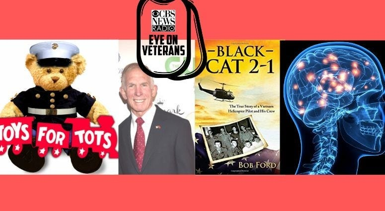 Toys for Tots, TMS Therapy and Bob Ford, Helicopter pilot, Vietnam veteran and author of Black Cat 2-1