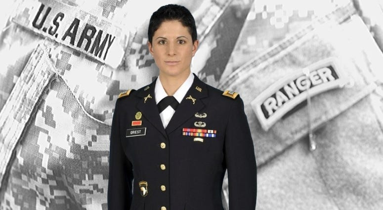 Capt. Kristen Griest made history in 2015 when she became one of the first women to graduate from US Army Ranger School