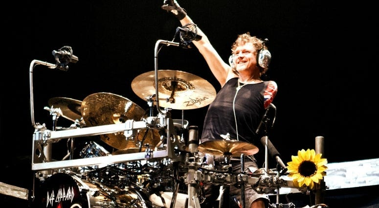 Def Leppard drummer Rick Allen supports veterans through Project Resiliency