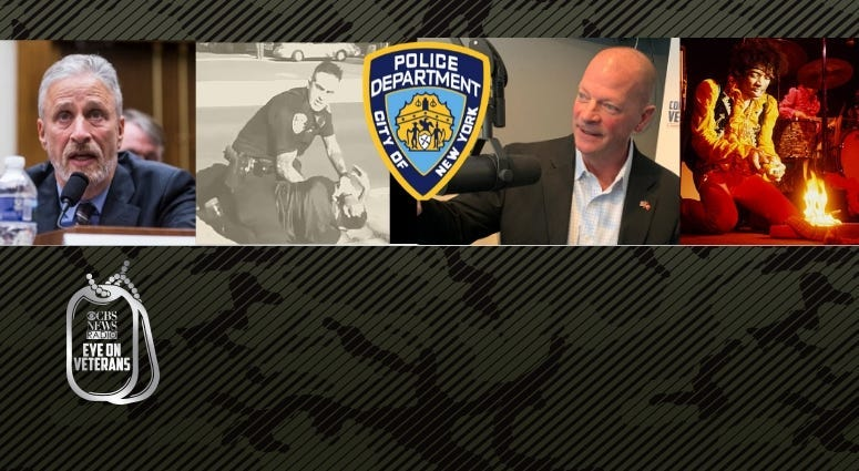 NYPD veteran Chris Strom, Jon Stewart, Toxic Exposures and Jimi Hendrix