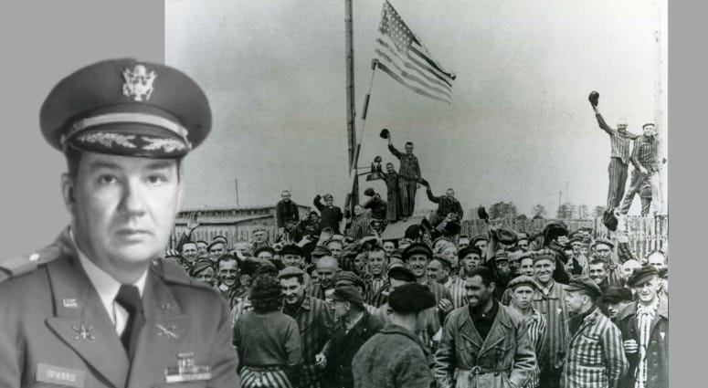 The Liberator by ALex Kershaw documents the epic story of Army Officer Felix Sparks and the liberation of Dachau