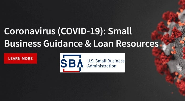 SBA's Carol Chastang talks about loans available for businesses affected by the coronavirus pandemic.