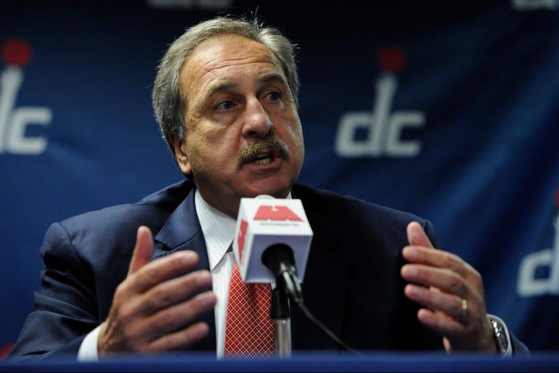 Wizards announced the firing of team president Ernie Grunfeld.