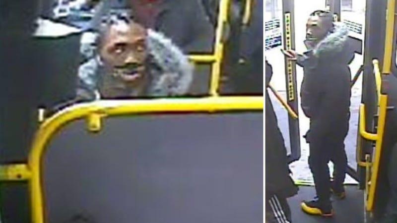 Brooklyn bus wanted man