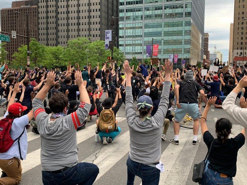 George Floyd protest in Philadelphia