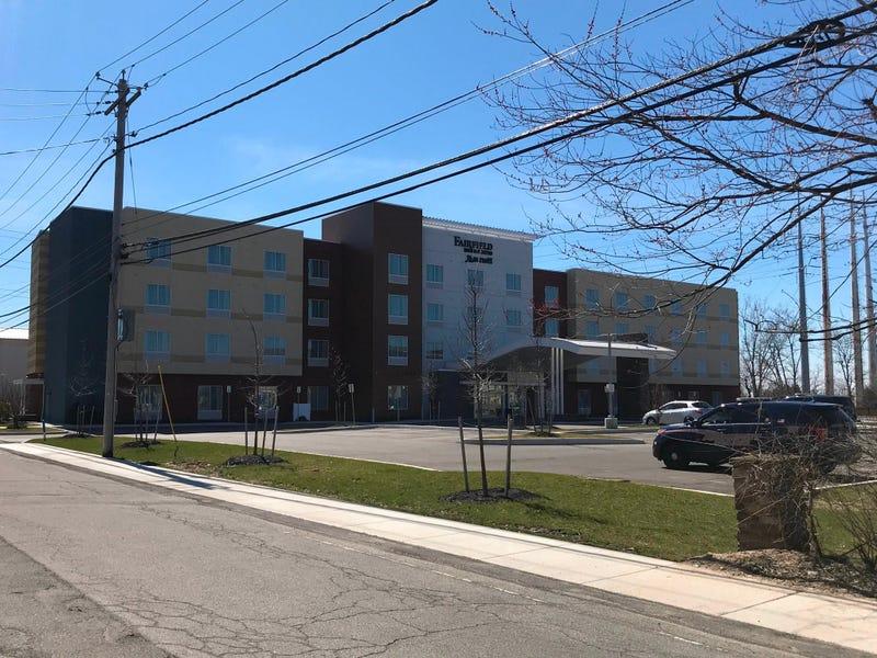Fairfield Inn in Amherst. March 27, 2020 (WBEN Photo/Tim Wenger)