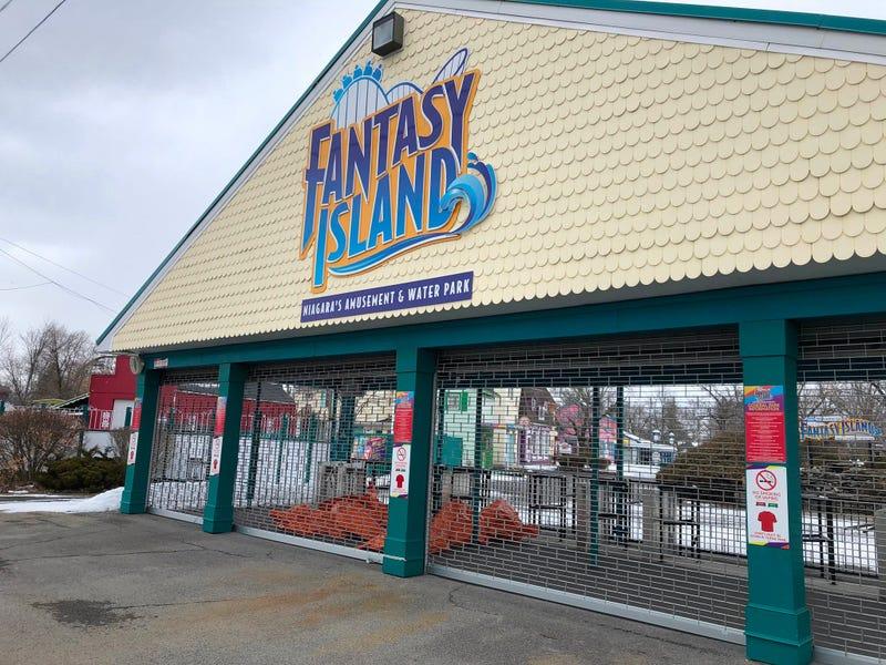 Fantasy Island in Grand Island. February 19, 2020 (WBEN Photo/Mike Baggerman)