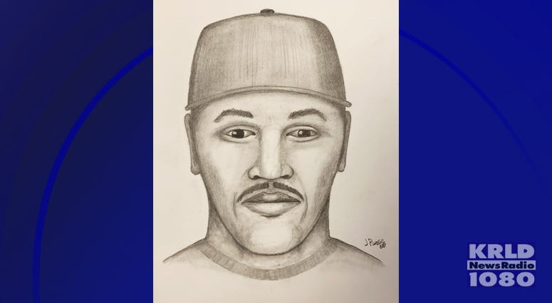 Farmers Branch Police Release Sketch Of Suspect