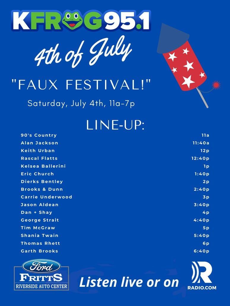 faux festival