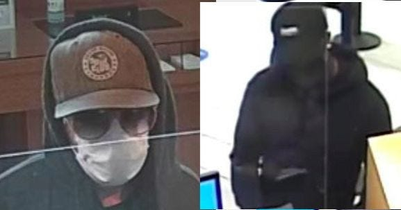 Bank Robbery Suspects