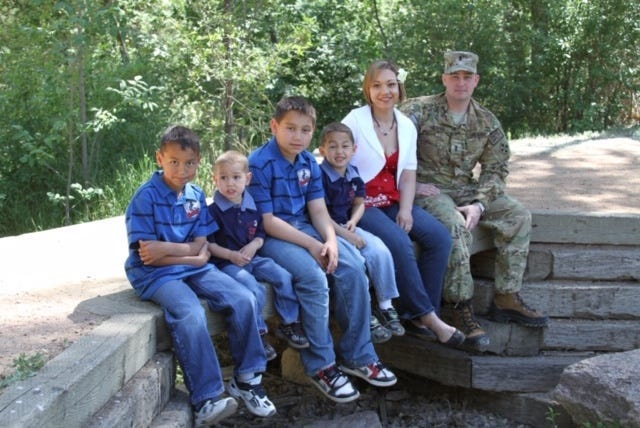 Elizabeth Dole Foundation is working to identify and address the needs of children in military caregiver families