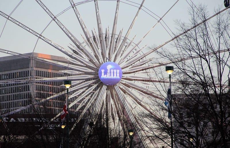 The Ferris Wheel Near Super Bowl 53