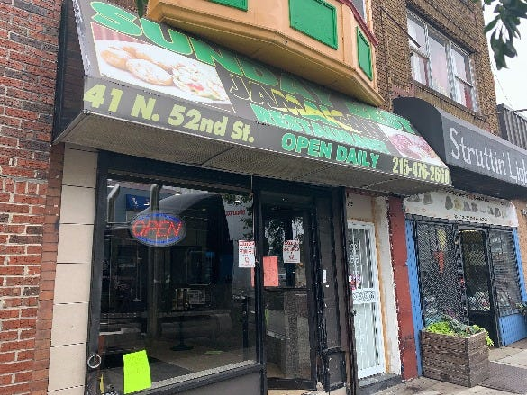 Sunday Best Jamacian Restaurant in West Philadelphia
