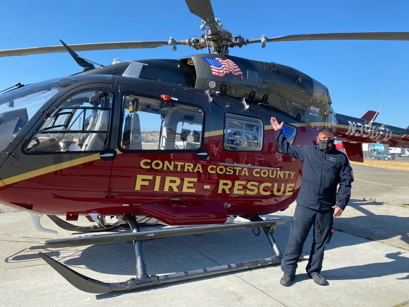 Con Air 1 is a new helicopter capable of aerial firefighting and responding to medical emergencies.